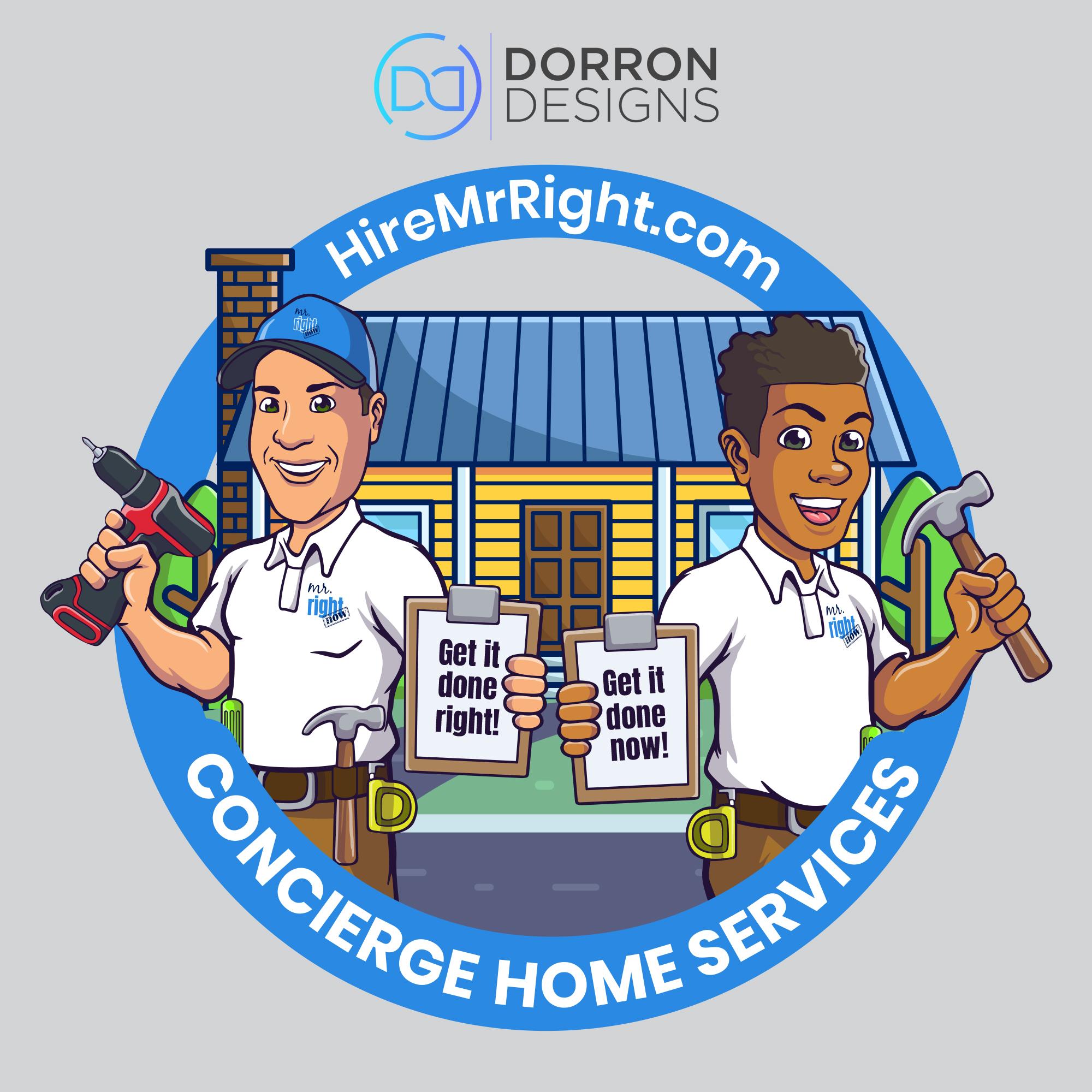 Mr-Right-Now-Logo-Design